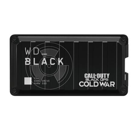 Ext. SSD WD Black P50 Game Drive 1TB Call of Duty, WDBAZX0010BBK-WESN