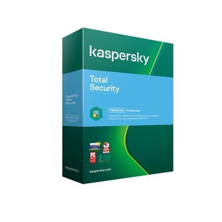Kaspersky Total Security 1x 1 rok Nová 2021 BOX, KL1949O5AFS-21MSB