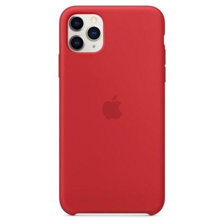 Pouzdro MWYV2ZM/A Apple Silikonové iPhone 11 Pro Max Red