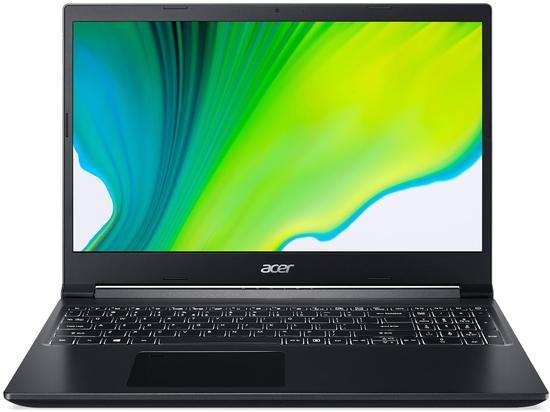 "Acer Aspire 7 (A715-41G-R40P) AMD Ryzen 5 3550H/8GB/512GB SSD/15.6"" FHD IPS LED LCD/GF GTX 1650Ti/W10 Home/Black"