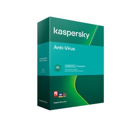 Kaspersky Anti-Virus 3x 1 rok Nová + Safe Kids 6 měsíců 2021 BOX, KL1171O5CFS-21MSBKSK