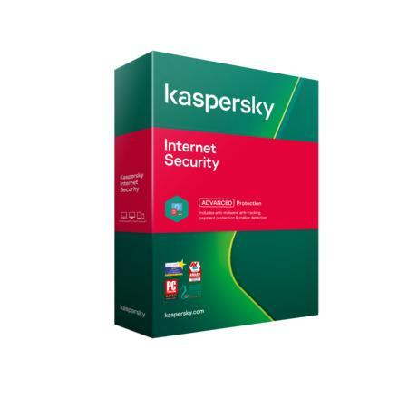Kaspersky Internet Security 3x 1 rok Nová + Safe Kids 6 měsíců 2021 BOX, KL1939O5CFS-21MSBKSK