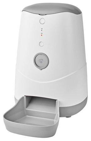 NEDIS Wi-Fi chytrý automat na krmivo pro domácí mazlíčky/ Android/ iOS/ Nedis® SmartLife/ bílo-šedý
