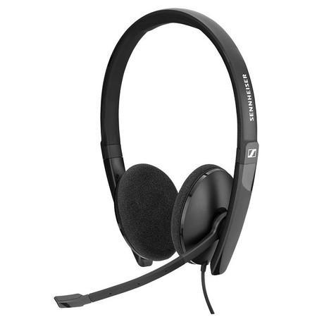 SENNHEISER SC 160 USB headset - oboustranná sluchátka s mikrofonem