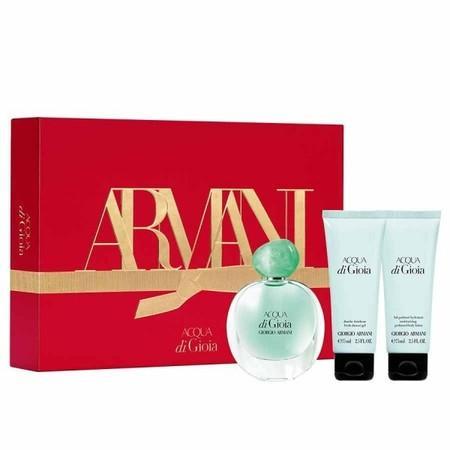 Giorgio Armani Acqua di Gioia parfémovaná voda Pro ženy 50ml + tělové mléko 75ml + sprchový gel 75ml