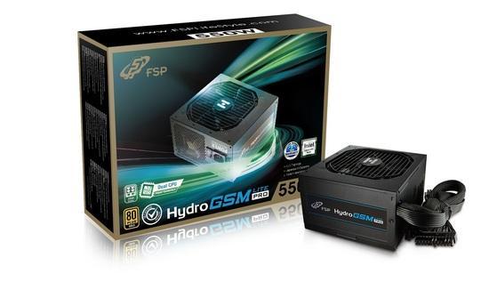 FSP/Fortron HYDRO GSM Lite PRO 550, 80PLUS GOLD, 550W, semi-modular, PPA5505801