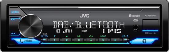 JVC KD-X38MDBT AUTORÁDIO BT/USB/MP3