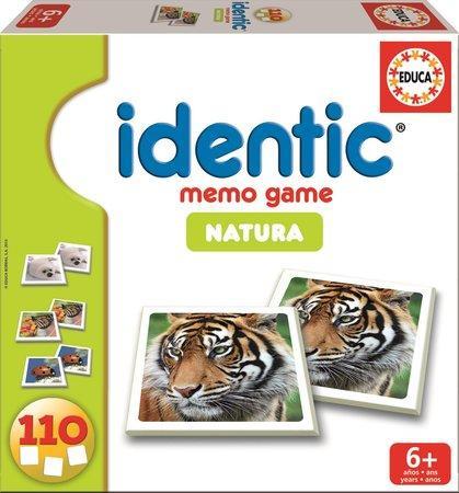 EDUCA Pexeso Zvířata 110 kartiček