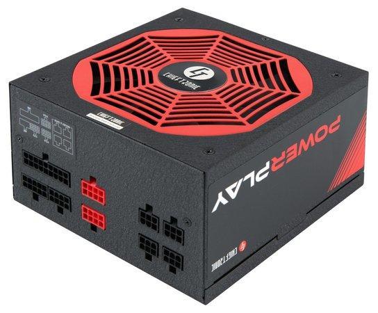 CHIEFTEC zdroj PowerPlay Series GPU-750FC, 750W, PFC, 14cm fan, 80+ Gold, GPU-750FC
