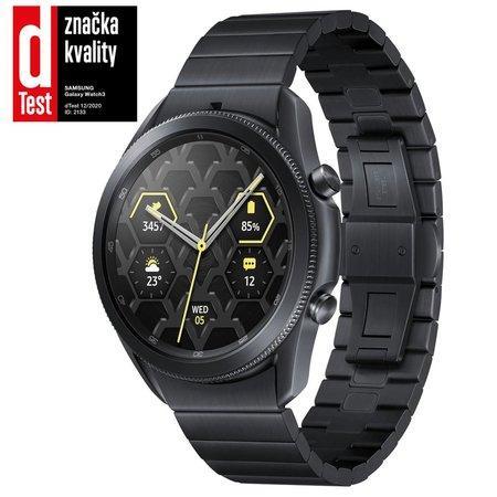 Samsung Galaxy Watch 3 45mm Titanium černé