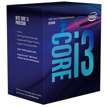 CPU Intel Core i3-9100 BOX (3.6GHz, LGA1151, VGA)