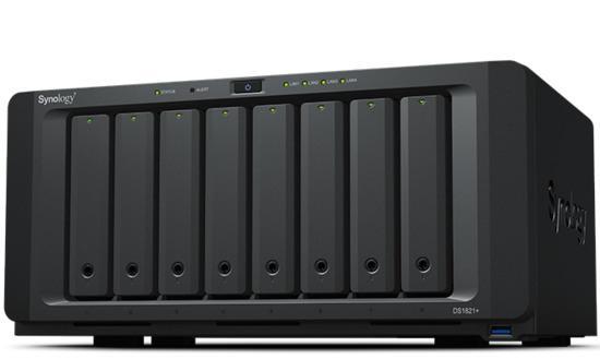 Synology DS1821+ DiskStation + rozšířená záruka 5 let, DS1821+ +EW201