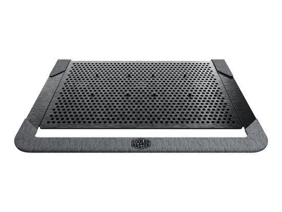 COOLER MASTER laptop cooling pad NotePal U2 Plus V2 black, MNX-SWUK-20FNN-R1