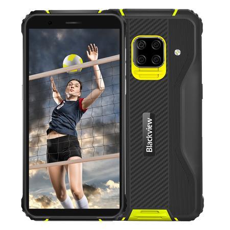 "iGET Blackview GBV5100 Yellow odolný telefon, 5,7"" HD+ IPS, 4GB+128GB, DualSIM, 4G, 5580mAh, NFC"
