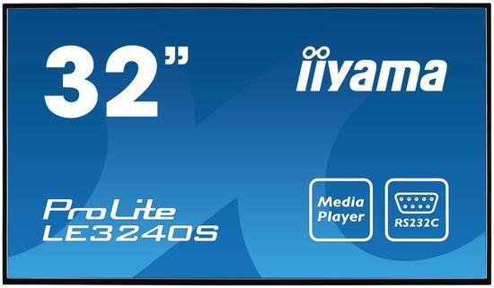IIYAMA, LE3240S-B2/32 LCD VA Panel 1920x1080, LE3240S-B2