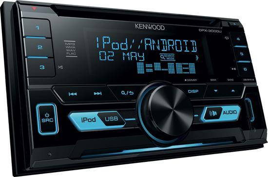 DTC KENWOOD DPX-3000U Autorádio 2DIN, CD, AUX, USB