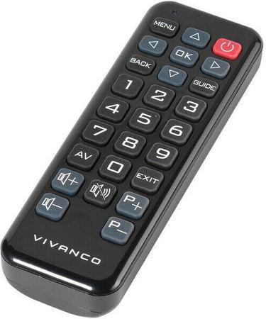 Dálkový ovladač Vivanco V-39287 pro TV Philips