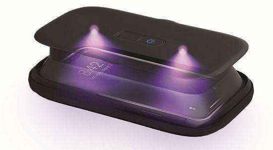 Homedics SAN-PH100BK UV sterilizátor pro mobilní telefony