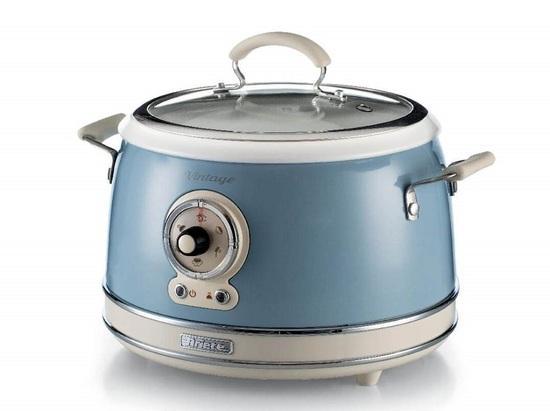 Ariete Vintage Multifunkční hrnec a rýžovar, modrý, 2904/05