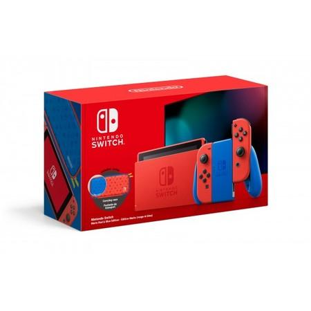 Herní konzole Nintendo Switch Mario Red & Blue Edition - červená/modrá