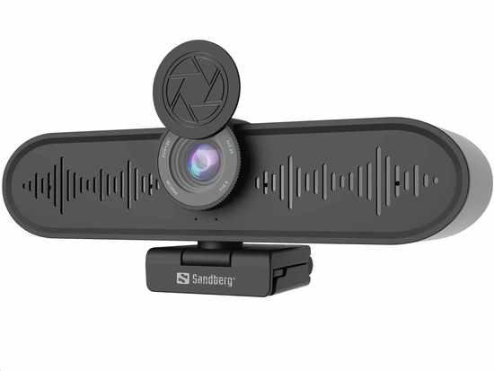 Sandberg videokonferenční zařízení ConfCam All-in-1, 4K, 134-24