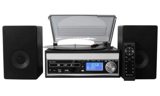 Soundmaster Music Center MCD1820SW/ DAB+ FM/ BT/ CD/ Kazeta/ Gramofon/ USB/ SD