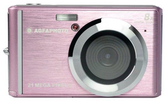 """AGFA PHOTO DC5200/ 2 MPix/ 8x digital zoom/ 2,4"""" LCD/ HD video/ Růžový"""