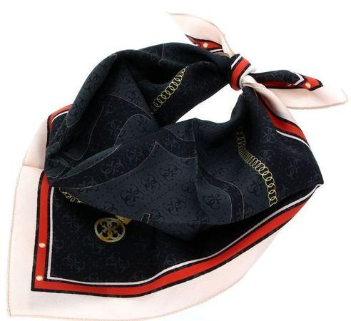 Guess Dámský šátek Jensen Foulard AW8547 SIL53 coal-coa