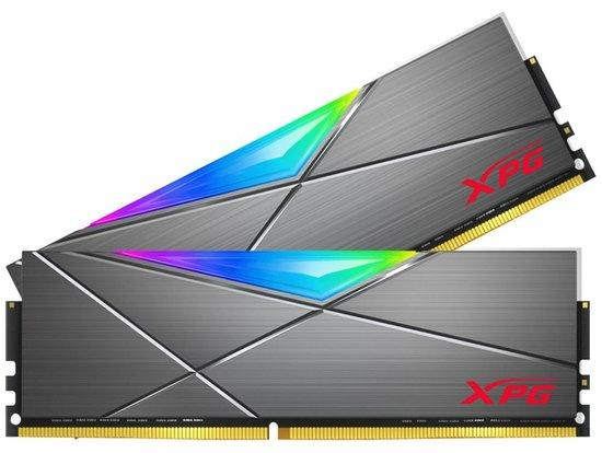ADATA XPG SPECTRIX D50 32GB DDR4 3600MHz / DIMM / CL18 / RGB / wolframová / KIT 2x 16GB