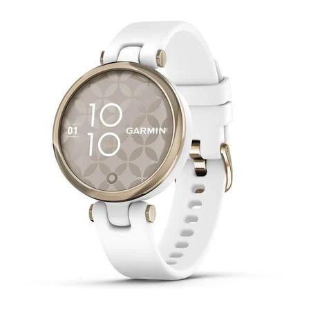Chytré hodinky Garmin Lily Sport Cream Gold / White Silicone Band