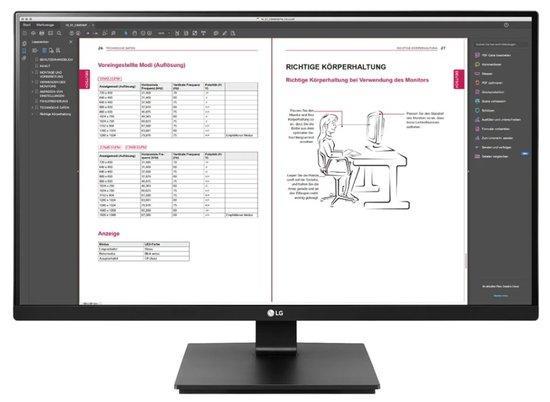"""LG monitor 27BN650Q / IPS 27"""" / 2560x1440 / 350cd/ 5ms / 2xHDMI / DP / pivot, 27BN65Q-B.AEU"""