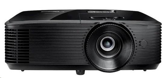 Optoma projektor S371 (DLP, FULL 3D, SVGA, 3800 ANSI, 25 000:1, HDMI, VGA, RS232, Audio 3.5mm, repro 1x10W)