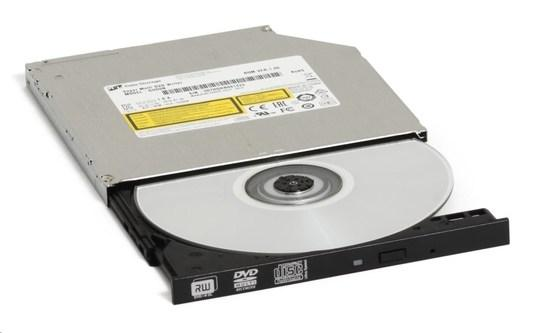 HITACHI LG - interní mechanika DVD-W/CD-RW/DVD±R/±RW/RAM/M-DISC GUD1N, Slim, 9.5 mm Tray, Black, bulk bez SW, GUD1N