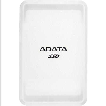 SSD disk Adata externí SC685 USB 3.2 Gen2 type C 1TB bílá, ASC685-1TU32G2-CWH