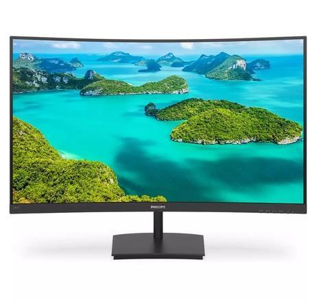 """Monitor Philips 241E1SC 23.6"""",LED, VA, 4ms, 3000:1, 250cd/m2, 1920 x 1080,, 241E1SC/00"""