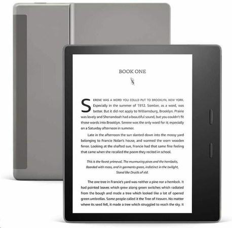 "Amazon Kindle Oasis (10th Gen – 2019) 7"" 8 GB, WiFi (300 ppi) - BLACK,"
