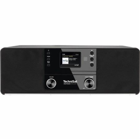 Internetové rádio s DAB+ TechniSat DIGITRADIO 370 CD IR, černé