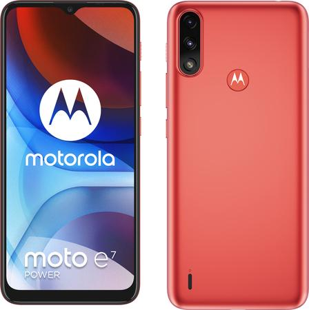 Motorola Moto E7 Power 4GB/64GB červený