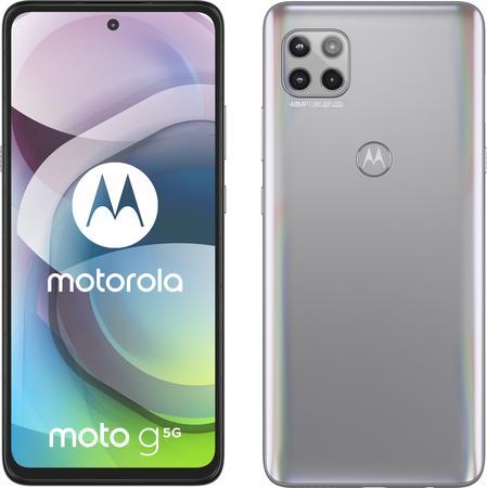 Motorola Moto G 5G 6GB/128GB stříbrný