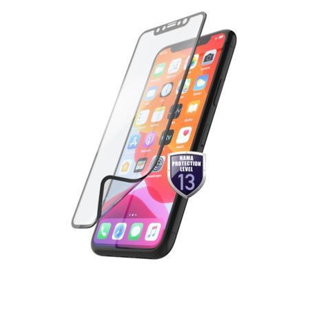 Hama Hiflex, ochrana displeje pro Apple iPhone 12/12 Pro, nerozbitná, bezpečnostní třída 13