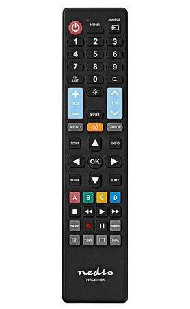 NEDIS předprogramovaný dálkový ovladač 5v1/ pro TV Samsung, LG, Sony, Philips, Panasonic