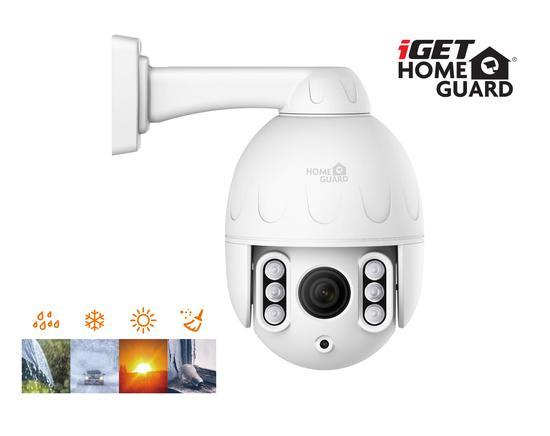 iGET HOMEGUARD HGWOB853 - bezdrátová rotační venkovní IP PTZ FullHD kamera, HGWOB853