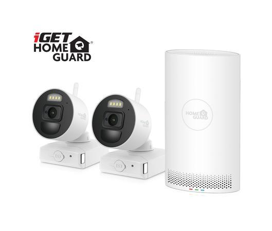 Kamerový systém iGET HOMEGUARD HGNVK88002P - bílá, HGNVK88002P