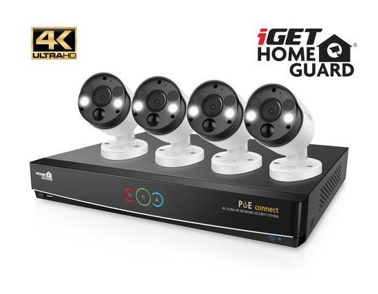 Kamerový systém iGET HOMEGUARD HGNVK84904 - bílá, 75020547