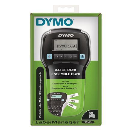 """Štítkovač """"LM 160 + 3 pásky D1"""", DYMO, 2142267"""