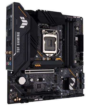 ASUS MB Sc LGA1200 TUF GAMING B560M-PLUS WIFI, Intel B560, 4xDDR4, 1xDP, 1xHDMI, WI-FI, mATX, 90MB1770-M0EAY0