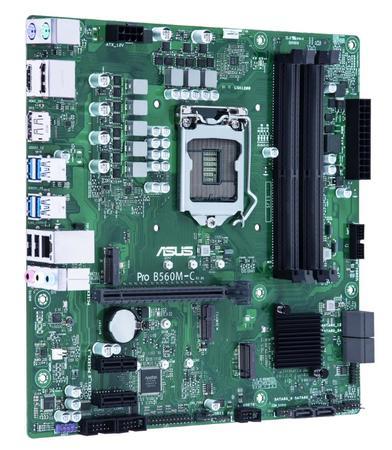 ASUS MB Sc LGA1200 PRO B560M-C/CSM, Intel B560, 4xDDR4, 2xDP, 1xHDMI, mATX, 90MB1720-M0EAYC