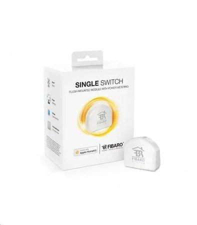 FIBARO Apple HomeKit spínací modul - FIBARO Apple HomeKit Single Switch