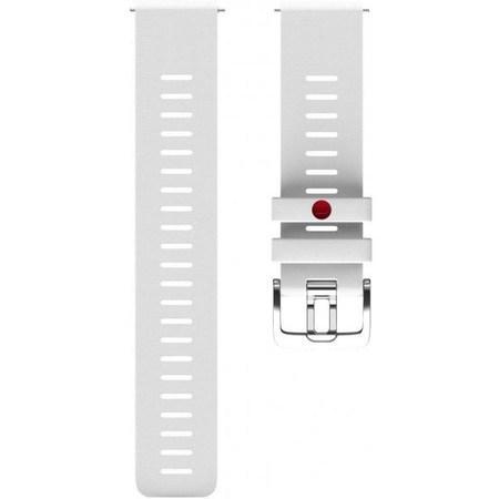 Řemínek Polar Grit X/Vantage M, 22 mm, vel. S/M - bílý