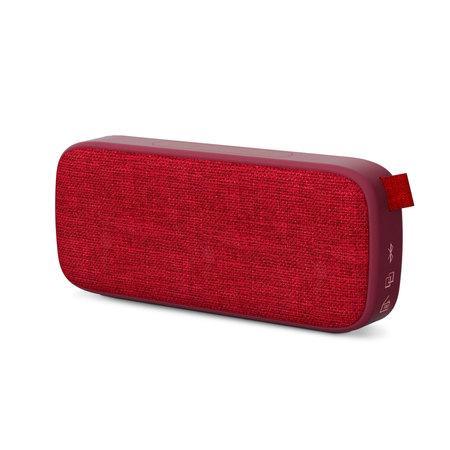 ENERGY Fabric Box 3+ Trend Cherry, přenosný reproduktor s technologiemi Bluetooth 5.0 a True Wireless Stereo